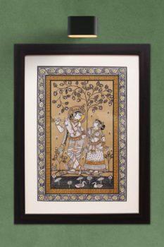 GiTAGGED Orissa Pattachitra Radha Krishna 1