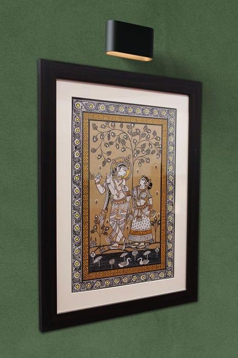 GiTAGGED Orissa Pattachitra Radha Krishna 2