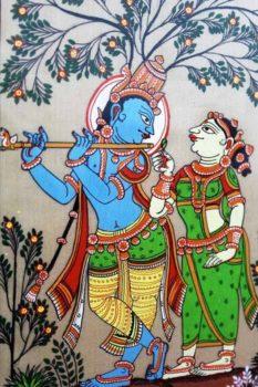 GiTAGGED Orissa Pattachitra Radha Krishna 3
