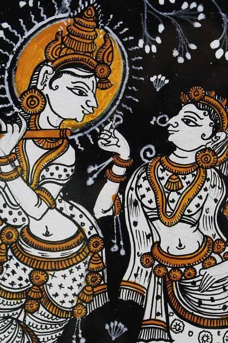 GiTAGGED Orissa Pattachitra Radha Krishna 4