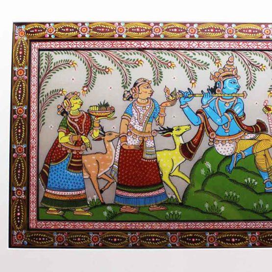 GiTAGGED Orissa Pattachitra Radha Krishna Rasaleela 2