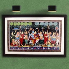 GiTAGGED Orissa Pattachitra Radha Krishna Rasaleela 23A
