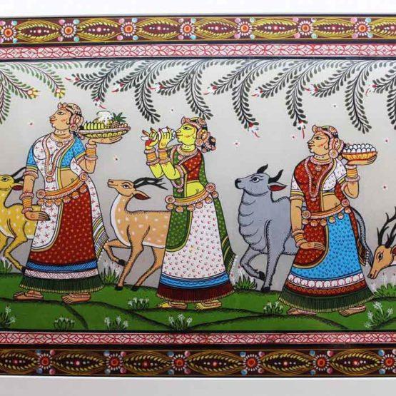 GiTAGGED Orissa Pattachitra Radha Krishna Rasaleela 3