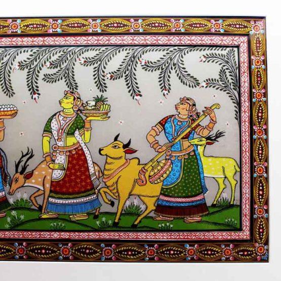GiTAGGED Orissa Pattachitra Radha Krishna Rasaleela 4