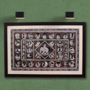 GiTAGGED Orissa Pattachitra - Shri Krishna's Birth & Life at Gokula 1