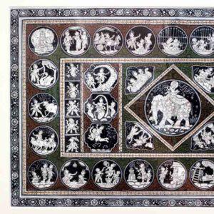 GiTAGGED Orissa Pattachitra - Shri Krishna's Birth & Life at Gokula 2