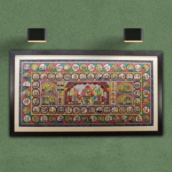 GiTAGGED Orissa Pattachitra The Story of Ramayana 1