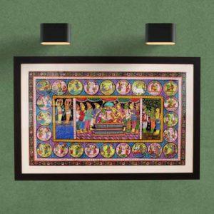 GiTAGGED Orissa Pattachitra - The Story of Ramayana 1