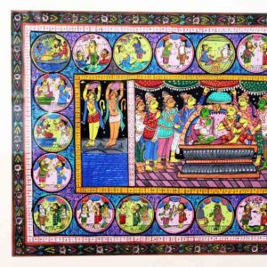 GiTAGGED Orissa Pattachitra - The Story of Ramayana 2