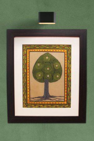 GiTAGGED Orissa Pattachitra Tree Painting 1
