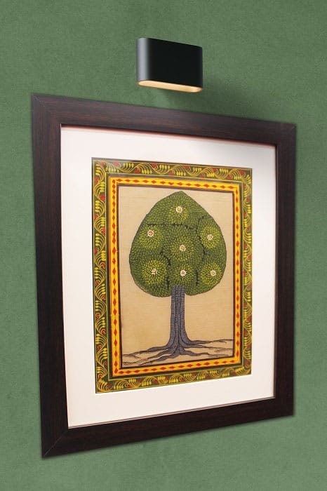 GiTAGGED Orissa Pattachitra Tree Painting 2