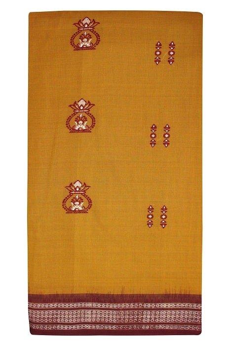 Cotton Bomkai Saree Online 5