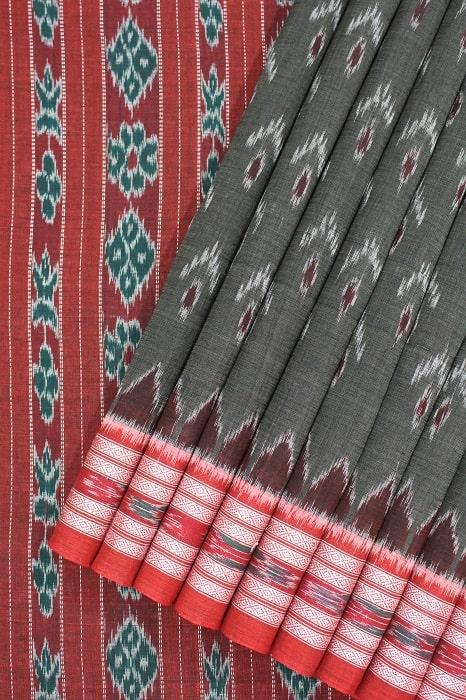 Orissa Ikat Pure Cotton Saree Online a1
