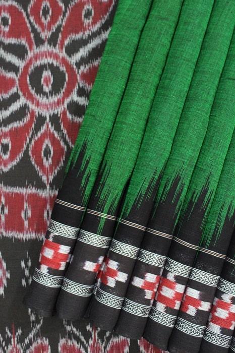 Orissa Ikkat Cotton Saree Online Shopping b1