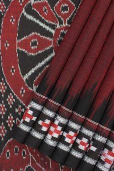 Orissa Ikkat Cotton Saree Online c1