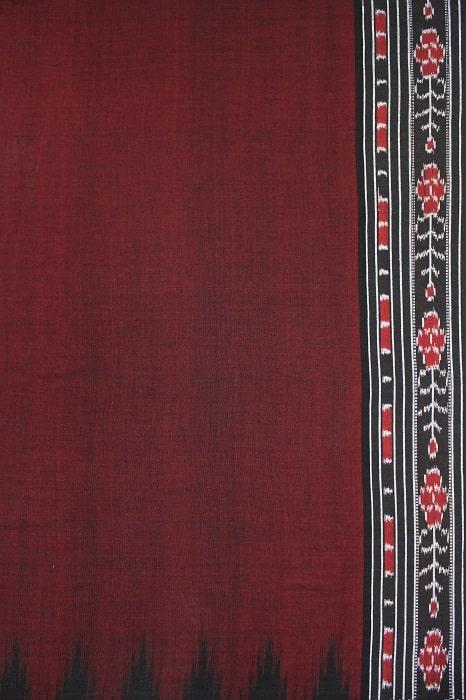 Orissa Ikkat Cotton Saree Online c2