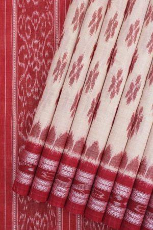 Orissa Ikkat Pure Cotton Saree 1