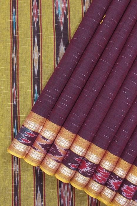 Orissa Ikkat Pure Cotton Sarees 1