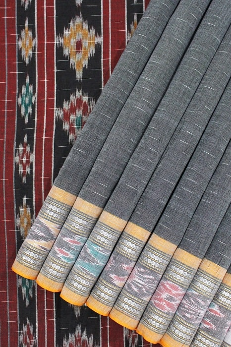 Orissa Ikkat Pure Cotton Sarees Online 1