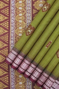 bomkai cotton saree online 1