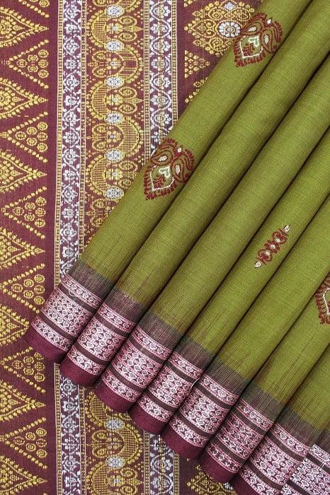 bomkai cotton saree online 1