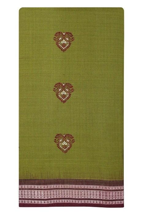 bomkai cotton saree online 5