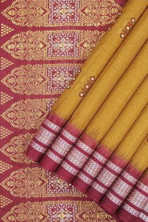 cotton bomkai saree online shopping 1