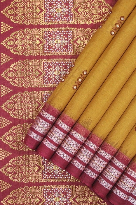 cotton bomkai saree online shopping 1