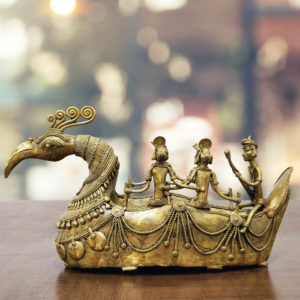 Bastar Dhokra Swan Art GiTAGGED
