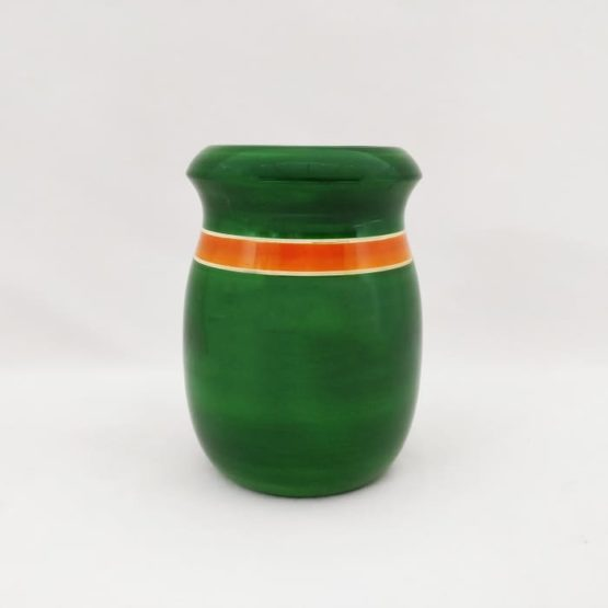 Channapatna Eco-friendly Flower Vase - Green 1
