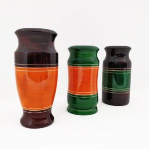Channapatna Eco-friendly Flower Vase Set of 3 1