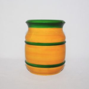 Channapatna Eco-friendly Flower Vase - Yellow 1