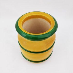 Channapatna Eco-friendly Flower Vase - Yellow 2