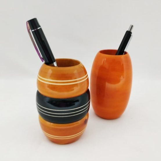 Channapatna Eco-friendly Pen Stand Set of 2 A