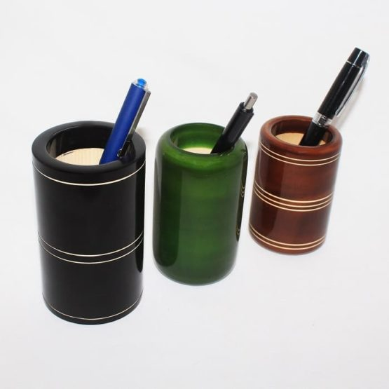 Channapatna Eco-friendly Pen Stand Set of 3 A