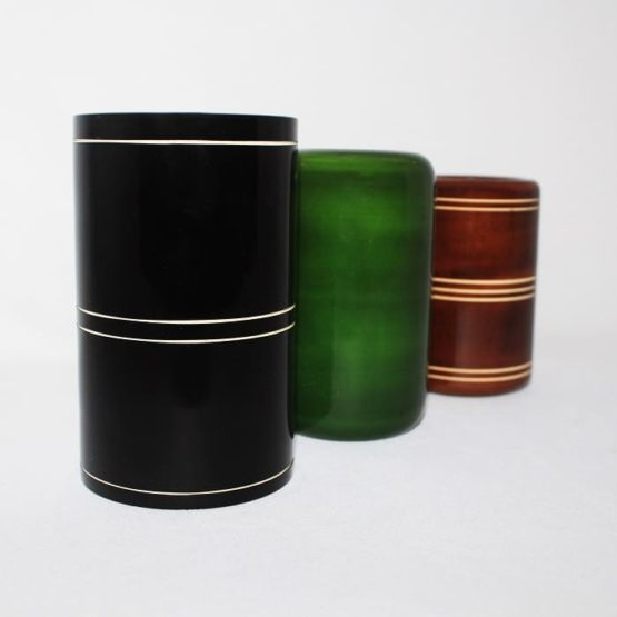 Channapatna Eco-friendly Pen Stand Set of 3 B