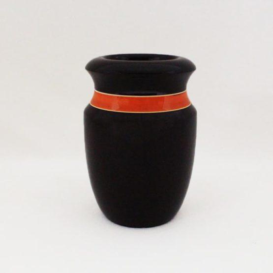 Channapatna Flower Vase - Black 1