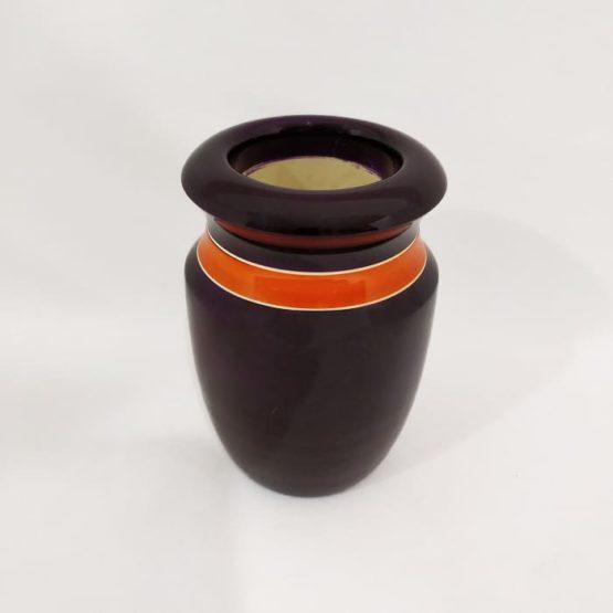 Channapatna Flower Vase - Black 3