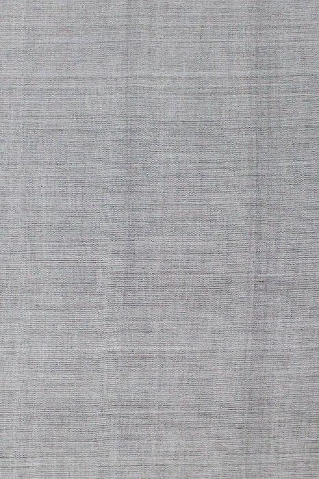 Handloom Grey Cotton-Silk Saree Online 4
