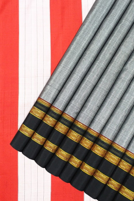 Handloom Traditional Cotton-Silk Saree Online 1