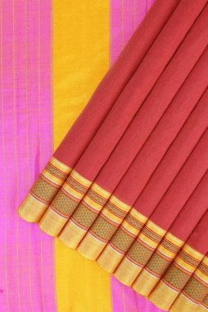 Ilkal Cotton-Silk Saree 1