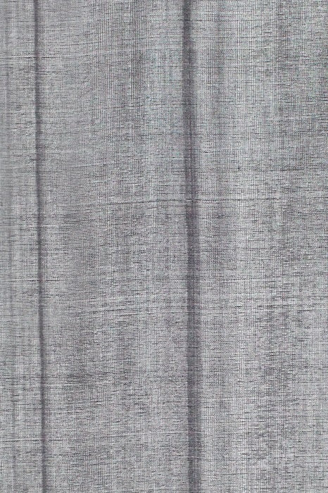 Ilkal Light Gray Cotton-Silk Saree Online 4