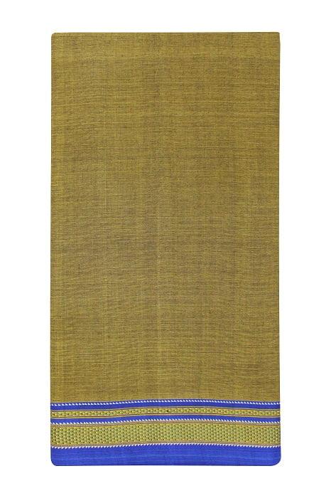 Ilkal Pickle Green Cotton-Silk Saree Online 5