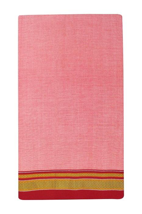 Ilkal Pink Cotton-Silk Saree Online 5