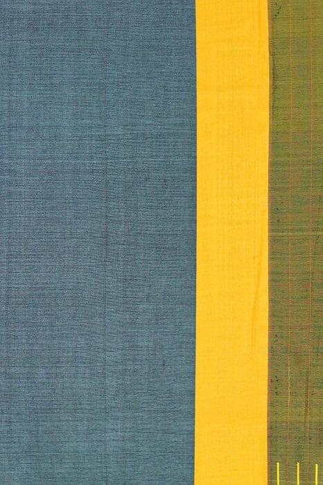 Ilkal Sky Blue Cotton-Silk Saree Online 2