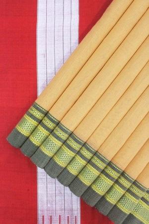 Traditional Ilkal Cotton-Silk Saree 1