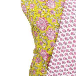 Farrukhabad Hand Block Print Pure Cotton Dress Material Set 1