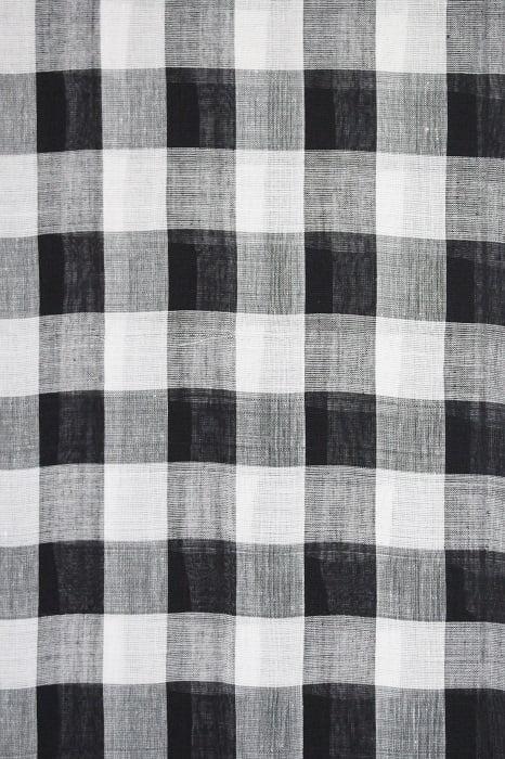 Ilkal Black and White Cotton-Silk Saree Online 4
