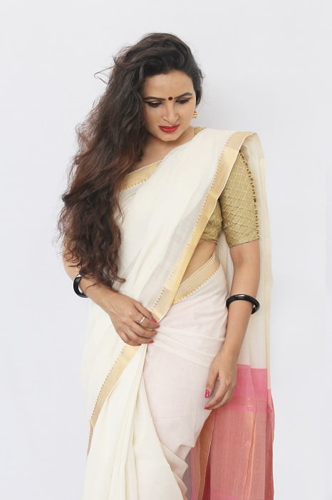 Mangalgiri Saree With Nizam Border 3