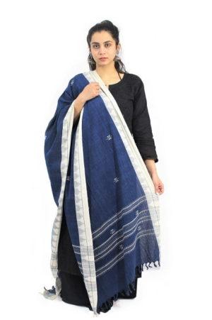 Kotpad Handloom Pure Cotton Dupatta 01A